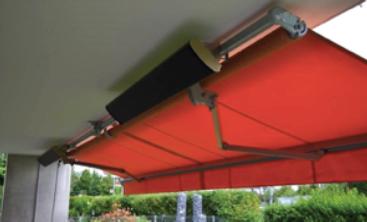 Применение инфракрасного обогревателя на террасе или балконе